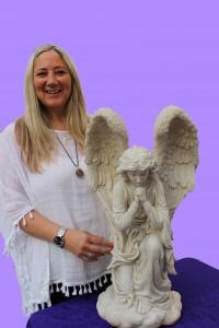 Pauline Walsh purple background